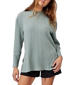 Women's Renee Rib Long Sleeve Top