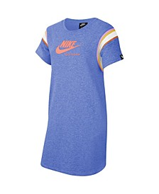 Sportswear Heritage Big Girl's Short-Sleeve Dress