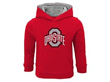 Toddler Ohio State Buckeyes Primary Logo Hooded Sweatshirt