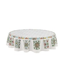 Under the Golden Sun 70 Round Tablecloth