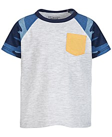 Baby Boys Camo-Sleeve Pocket T-Shirt, Created for Macy's