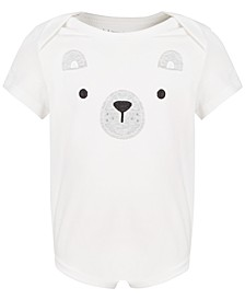 Baby Boys & Girls Polar Bear Bodysuit, Created for Macy's