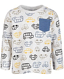 Baby Boys Traffic-Print T-Shirt, Created for Macy's