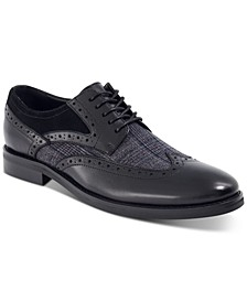 Men's Oliver Mixed Wingtip Oxfords, Created for Macy's