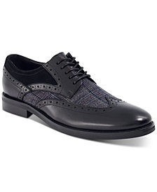 Bar III Men's Oliver Mixed Wingtip Oxfords, Created for Macy's
