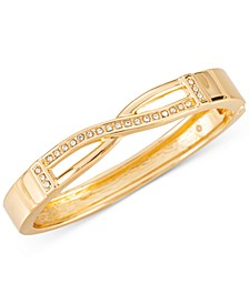Pavé Crisscross Double-Row Bangle Bracelet, Created for Macy's