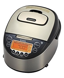 Induction Heating 10 Cup Rice Cooker Warmer