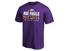 Authentic NBA Apparel Men's Los Angeles Lakers Ready To Play Champs Roster T-Shirt