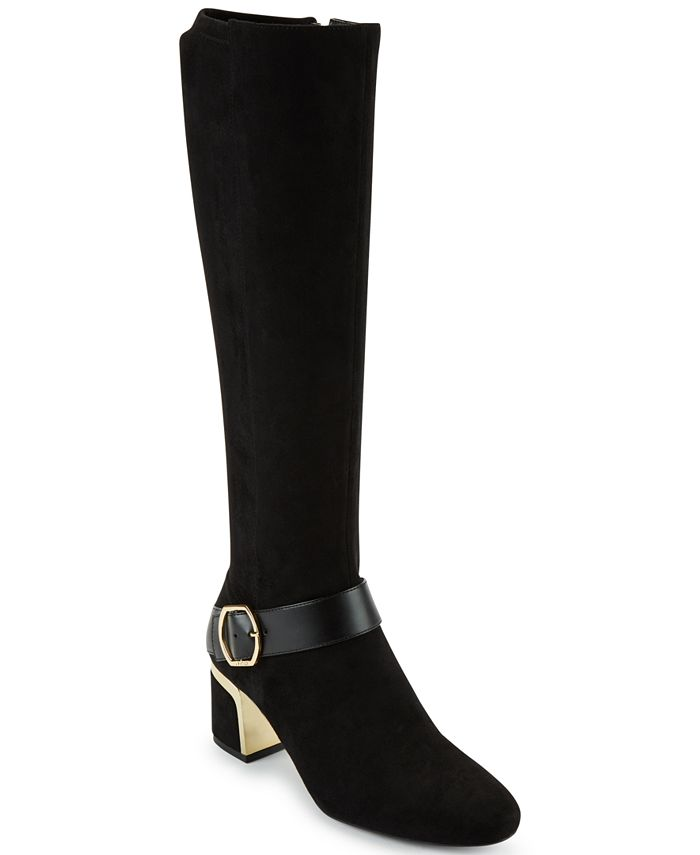 DKNY - Caira Buckled Boots