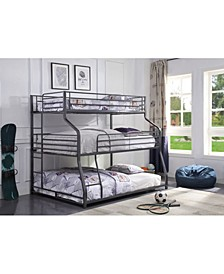 Caius Ii Triple Bunk Bed - Twin/Full/Queen
