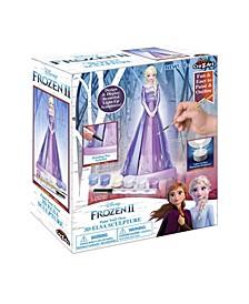 Frozen II Paint Your Own 3D Elsa -- Comparable Value $19.99