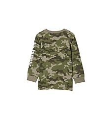 Big Boys Tom Long Sleeve T-Shirt