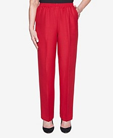 Women's Classic Textured Proportioned Short Pant