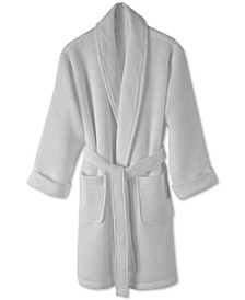 Cotton Waffle Textured Bath Robe, Created for Macy's