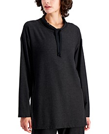 Drawstring-Neck Tunic