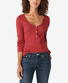 Henley Long-Sleeved Top