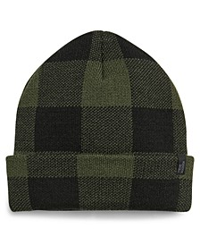 Men's Checkered Beanie