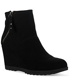 Finn Wedge Booties, Created for Macy's