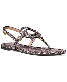 Women's Jeri Leather Sandals
