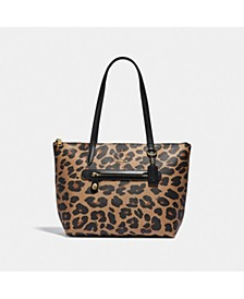 Leopard Print Taylor Tote