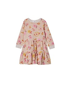 Toddler Girl Angie Long Sleeve Dress