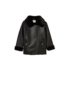 Toddler Girl Olivia Biker Jacket