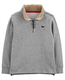 Carters Big Boy Half-Zip Fleece Pullover