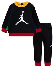 Baby Boys Fleece Sweatshirt and Joggers Set