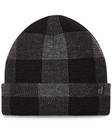 Men's Checkered Beanie