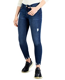 Kendall + Kyle Juniors' Mid-Rise Skinny Ankle Jeans
