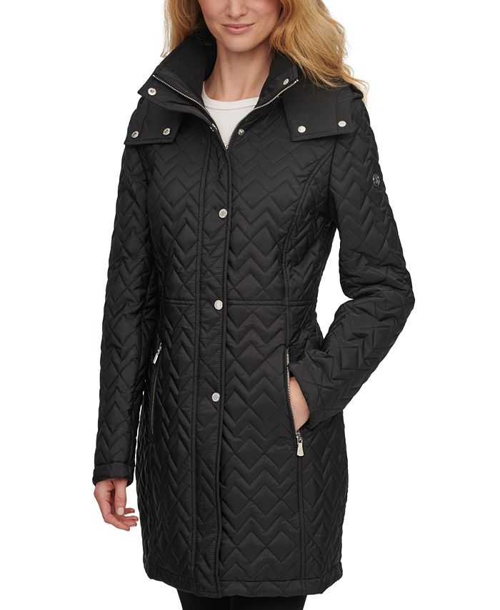Calvin Klein - Hooded Quilted Coat