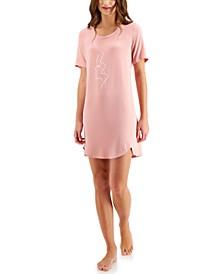 Short Sleep Shirt Nightgown, Created for Macy's