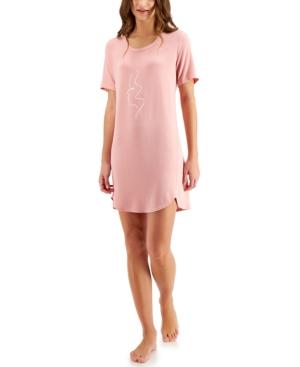 Jenni Nightgowns SHORT SLEEP SHIRT NIGHTGOWN, CREATED FOR MACY'S