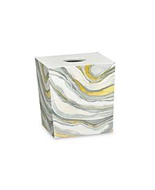 Shell Rummel Sand Stone Tissue Box