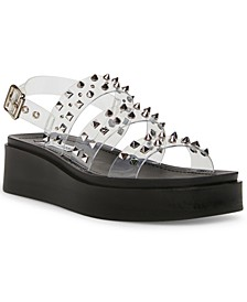 Women's Tera Studded Flatform Wedge Sandals
