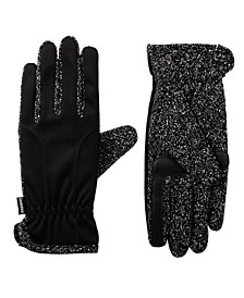 Women's Unlined Water Repellent Speckled Touch Screen Glove