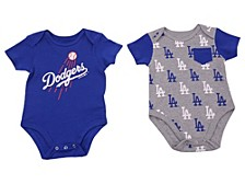 Newborn Los Angeles Dodgers Pocket 2pack Set