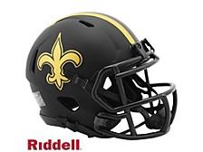 New Orleans Saints Speed Eclipse Alt Mini Helmet
