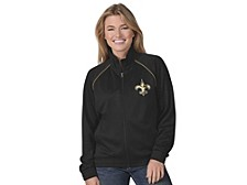 New Orleans Saints Women's Power Play Track Jacket