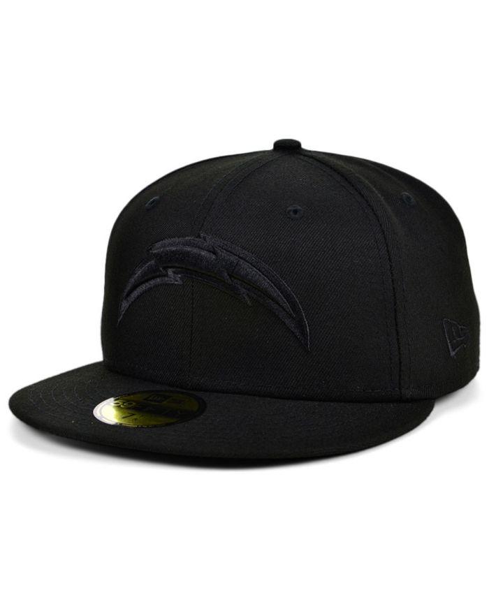 New Era Los Angeles Chargers Black on Black 59FIFTY Cap & Reviews - NFL - Sports Fan Shop - Macy's