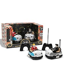 Toy RC Bumper Car Set Retro