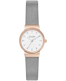 Women's Ancher Stainless Steel Mesh Bracelet Watch 26mm