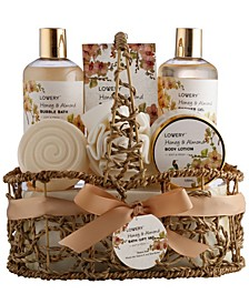 Honey and Almond Body Care 8 Piece Gift Set