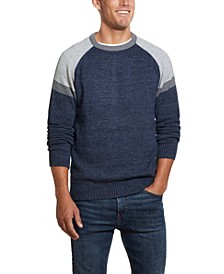 Men's Colorblock Crew Neck Sweater