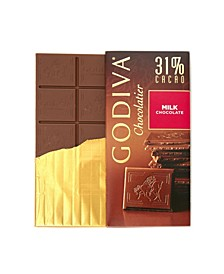 Set of 10, Large Milk Chocolate Bars