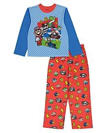 Mario Big Boy 2 Piece Pajama Set
