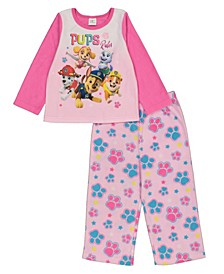Paw Patrol Toddler Girl 2 Piece Pajama Set
