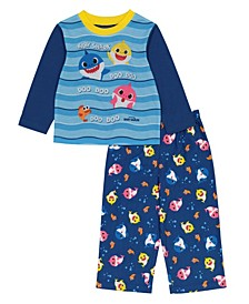 Baby Shark Toddler Boy 4 Piece Pajama Set