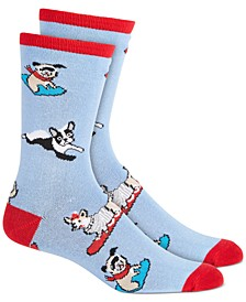 Women's Dog-Print Socks, Created for Macy's