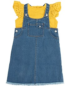7 For All Mankind Baby Girls 2-Piece Jumper Set
